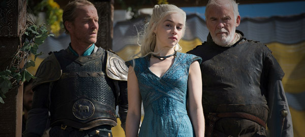 Game of Thrones - Season 4 Episode 4 - Jorah Dany Barristan