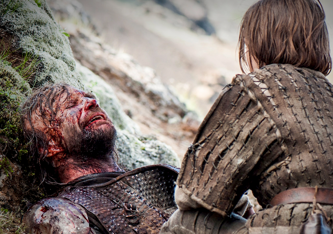 Game of Thrones Season 4 Episode 10 Hound Arya