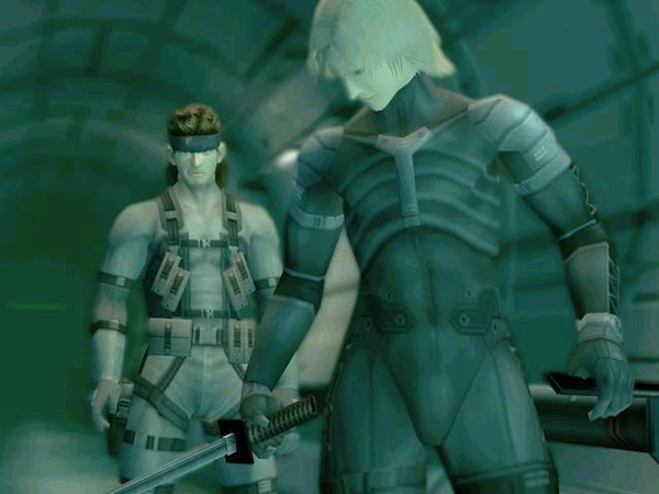 Solid Snake and Raiden