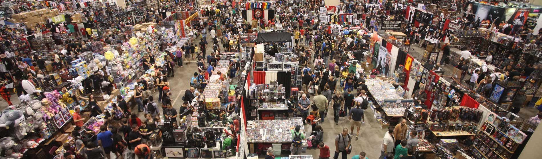 Fan Expo show floor