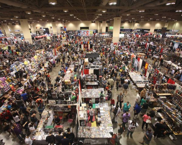 Fan Expo show floor