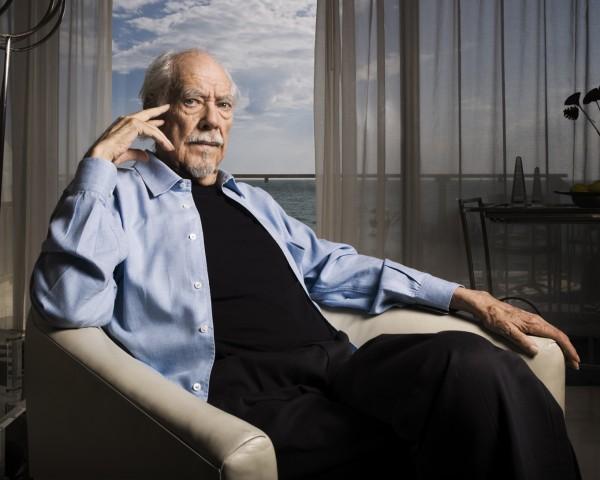 Portrait of American director Robert Altman