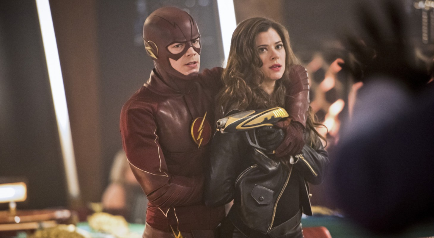 The Flash - Episode 16 - Barry Allen and Lisa Snart