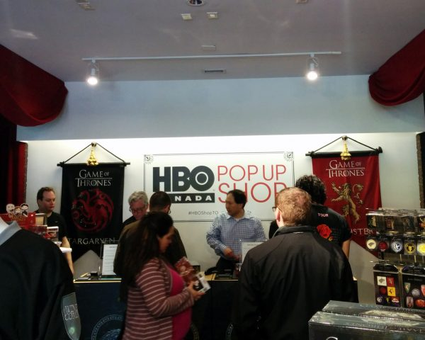 Game of Thrones Pop-up Shop Toronto