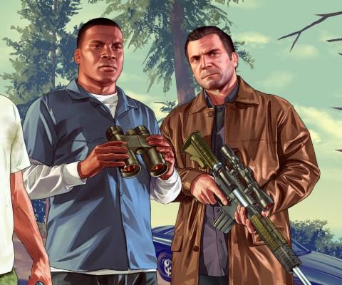 GTA-V-main-characters