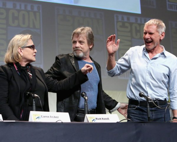 Star Wars Comic-Con Cast - Harrison Ford, Mark Hamill, Carrie Fisher