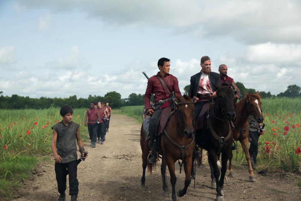 Into the Badlands - Aramis Knight Daniel Wu Martin Csokas