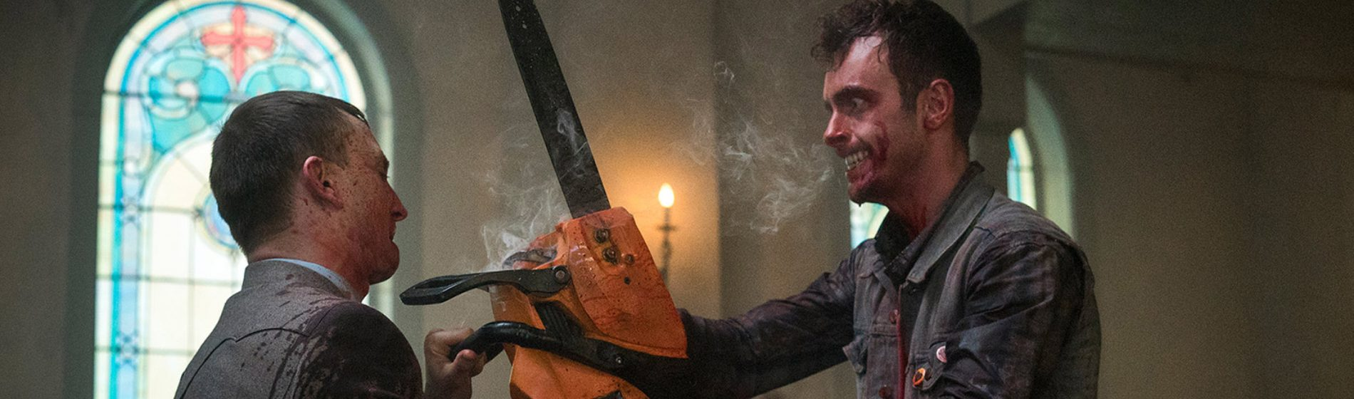 Preacher Chainsaw Fight