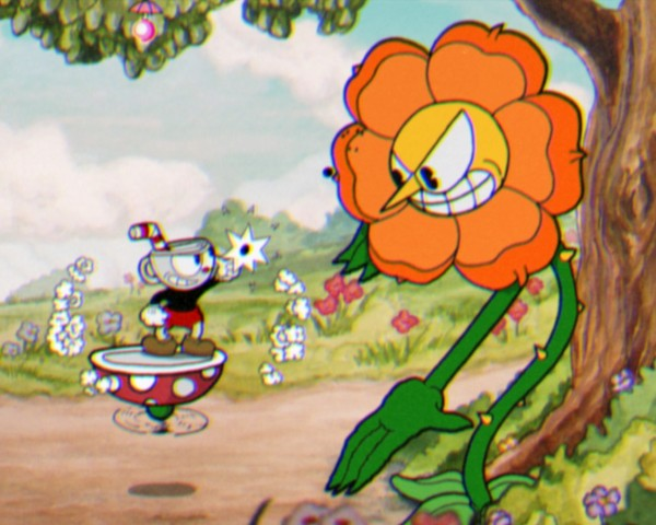 cuphead-flower