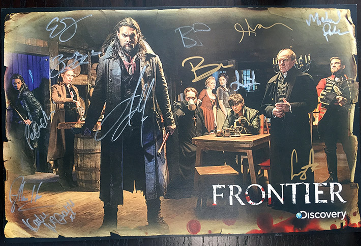 Frontier Signed Poster
