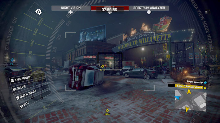 Dead Rising 4 Camera Zoom in Willamette
