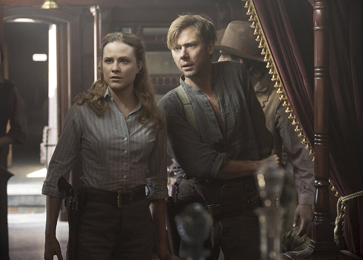 Evan Rachel Wood Jimmi Simpson Westworld