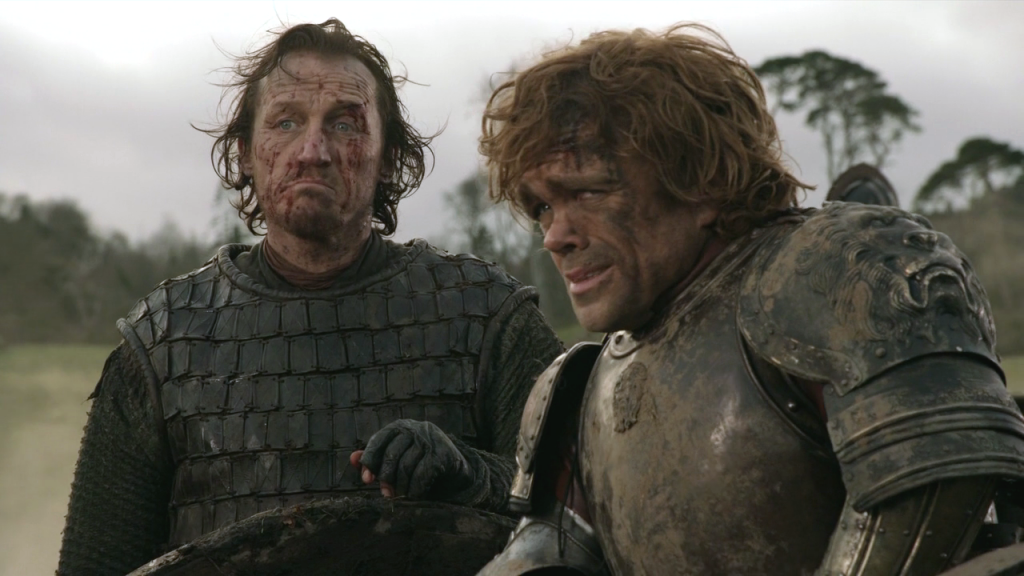 Game of Thrones Bronn Tyrion