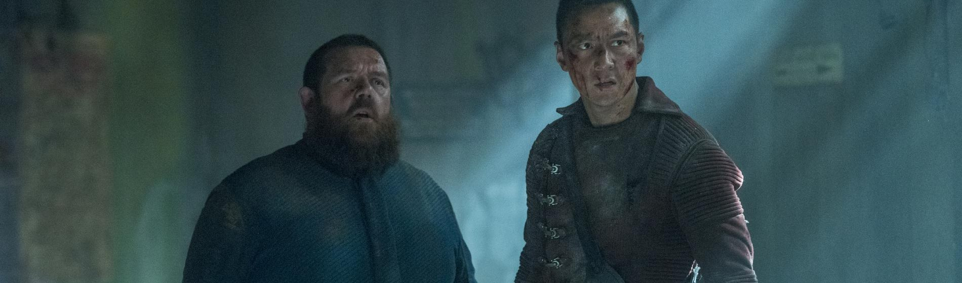 Into the Badlands Daniel Wu Nick Frost