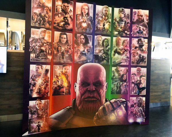 Avengers: Infinity War Box Office Artist James Raiz Mural