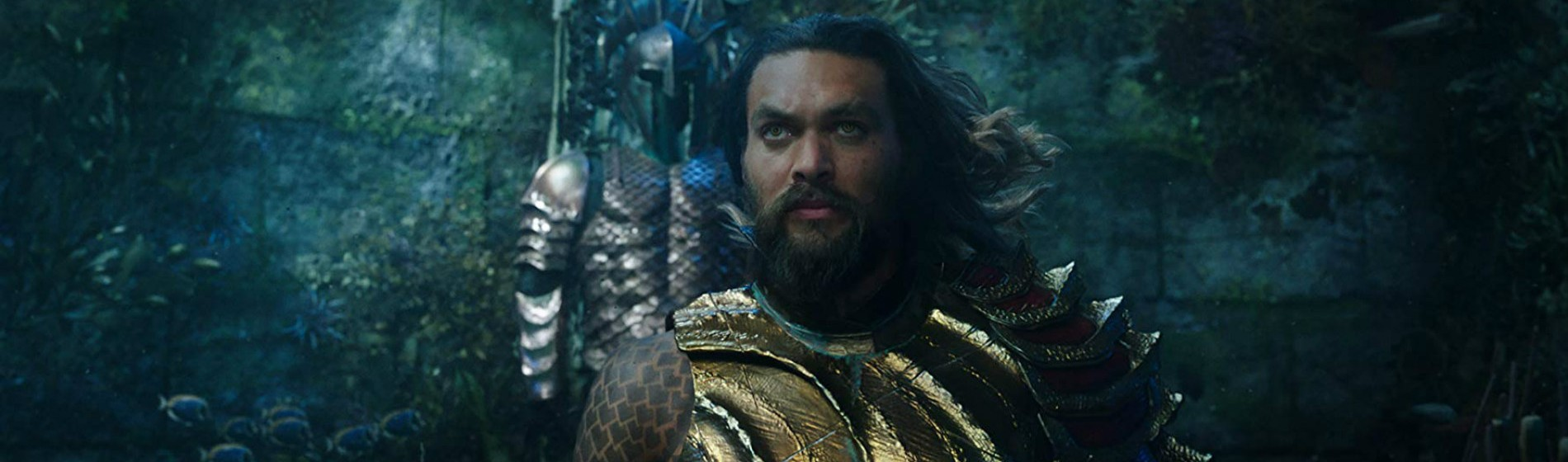 Aquaman Wearing Armour