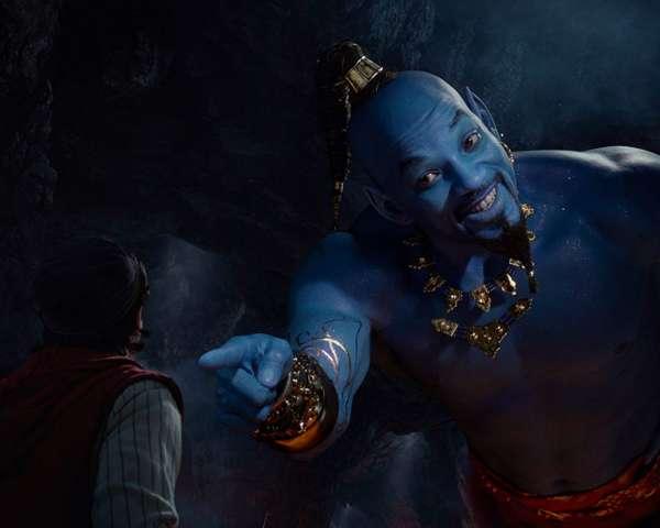 Aladdin Genie Will Smith