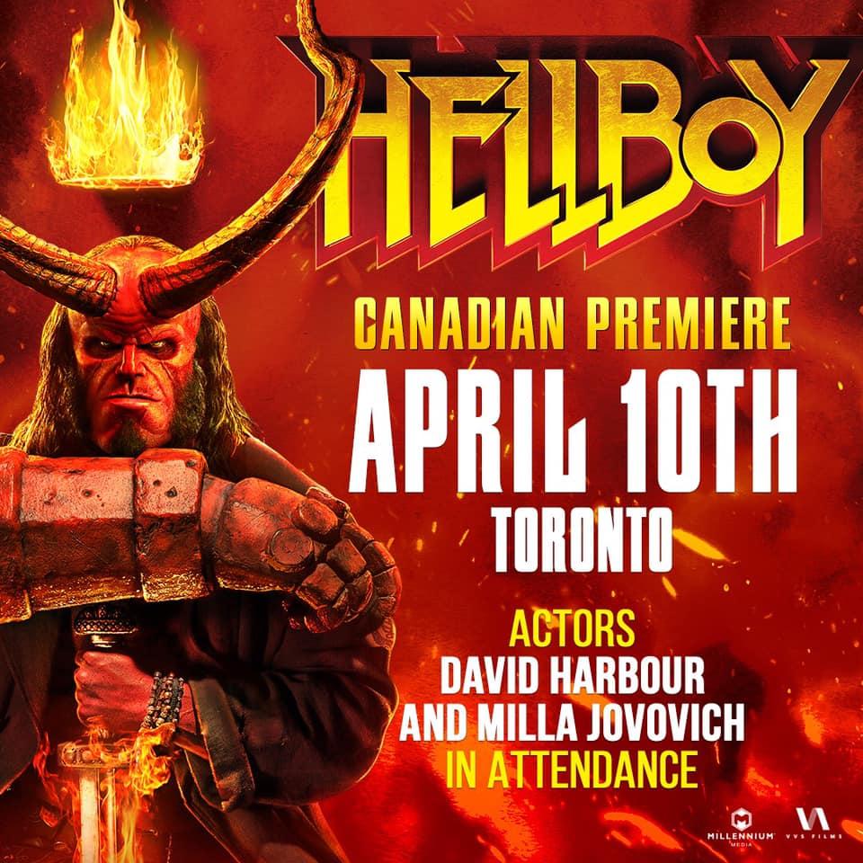 Hellboy Canadian Premiere