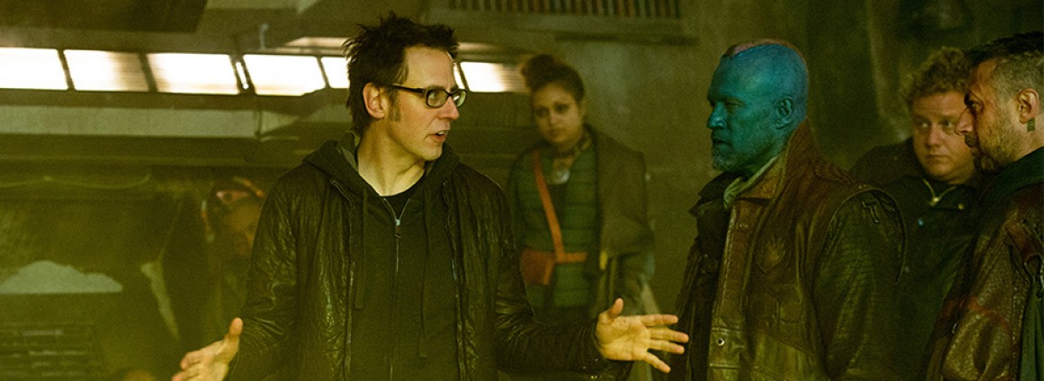 James Gunn Guardians of the Galaxy Fired Rehired