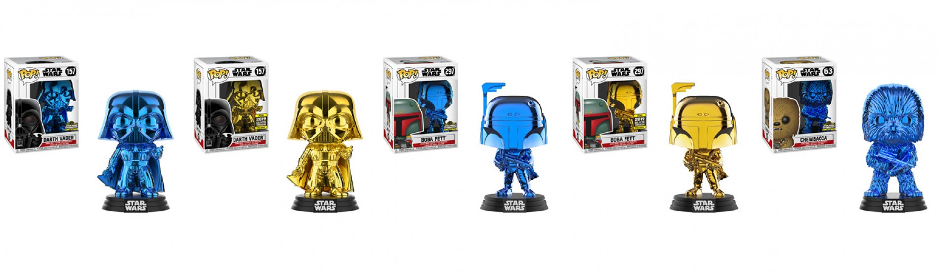 Star Wars Celebration Funko Exclusives