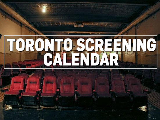 Toronto Screening Calendar