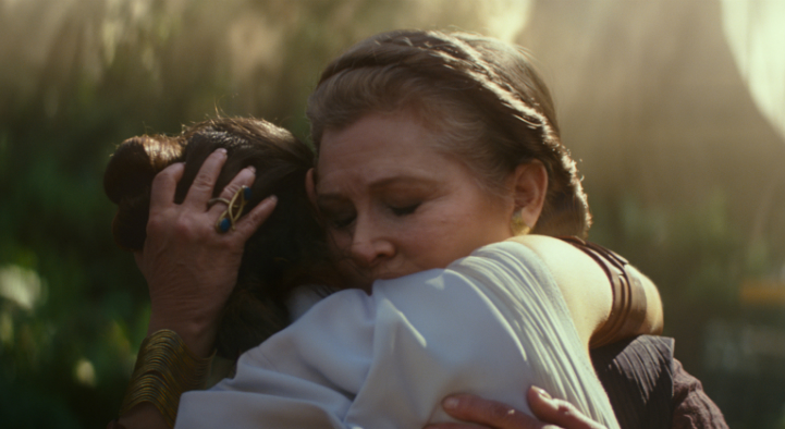The Rise of Skywalker - Leia and Rey