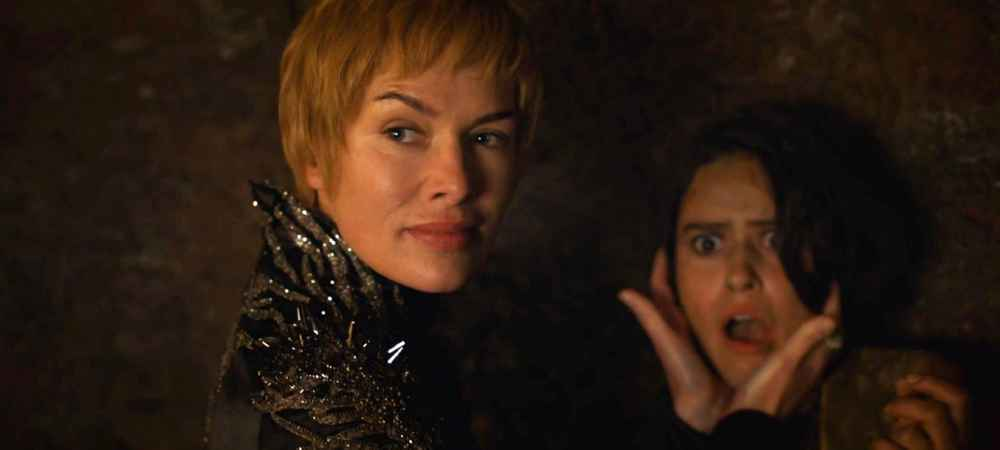 Game of Thrones Cersei Kiss of Death