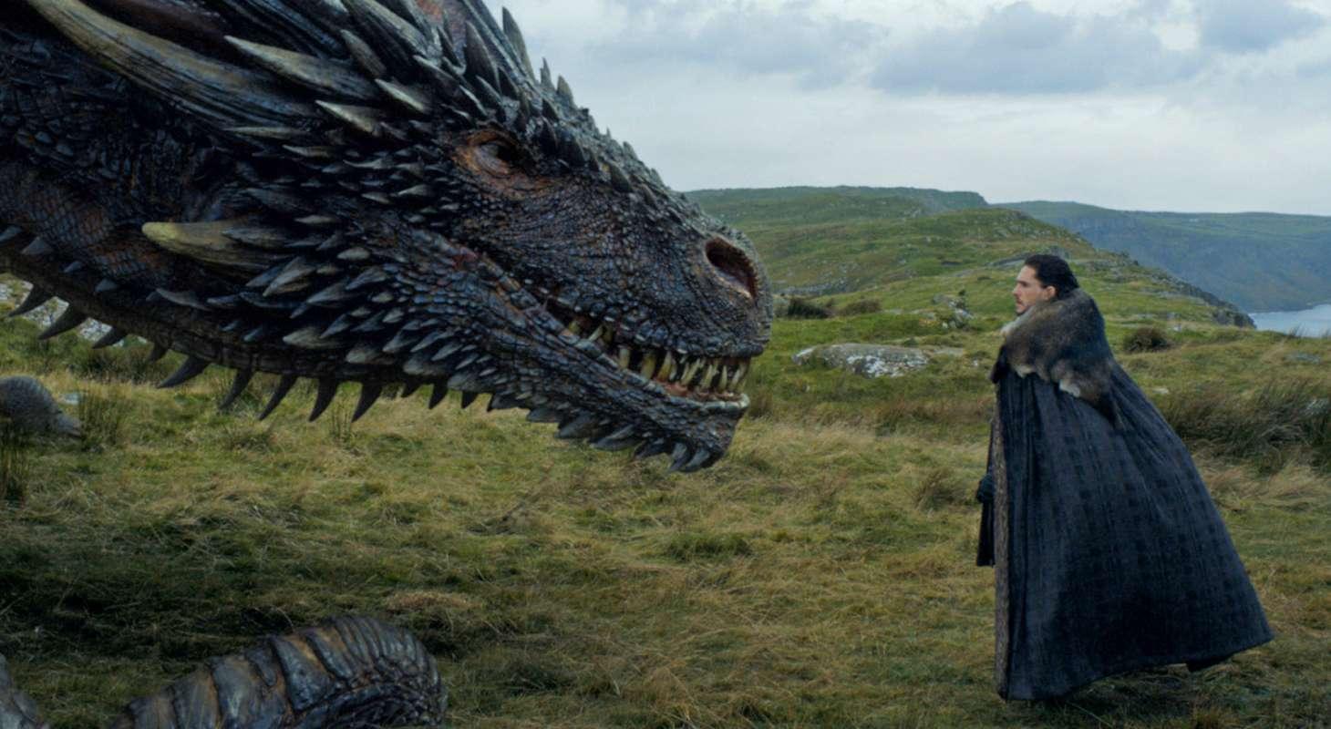 Game of Thrones Jon Snow Dragon