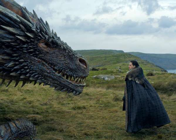 Game of Thrones Jon Snow Dragon