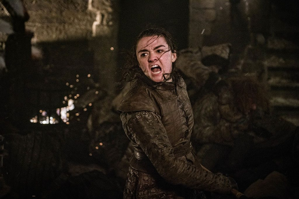 Game of Thrones The Long Night Arya Stark