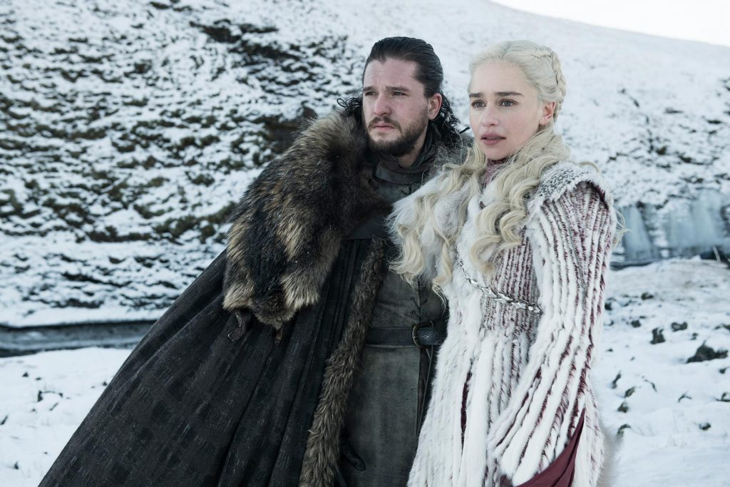 Game of Thrones Season 8 Jon Snow Daenerys - Featured