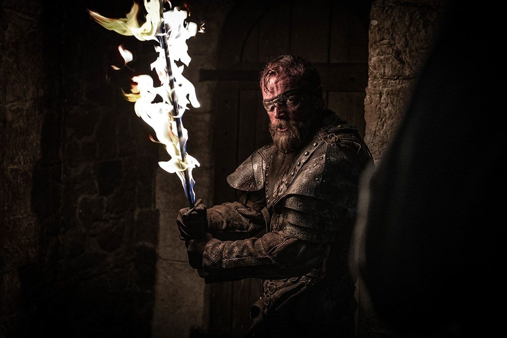 Game of Thrones The Long Night Beric Dondarrion