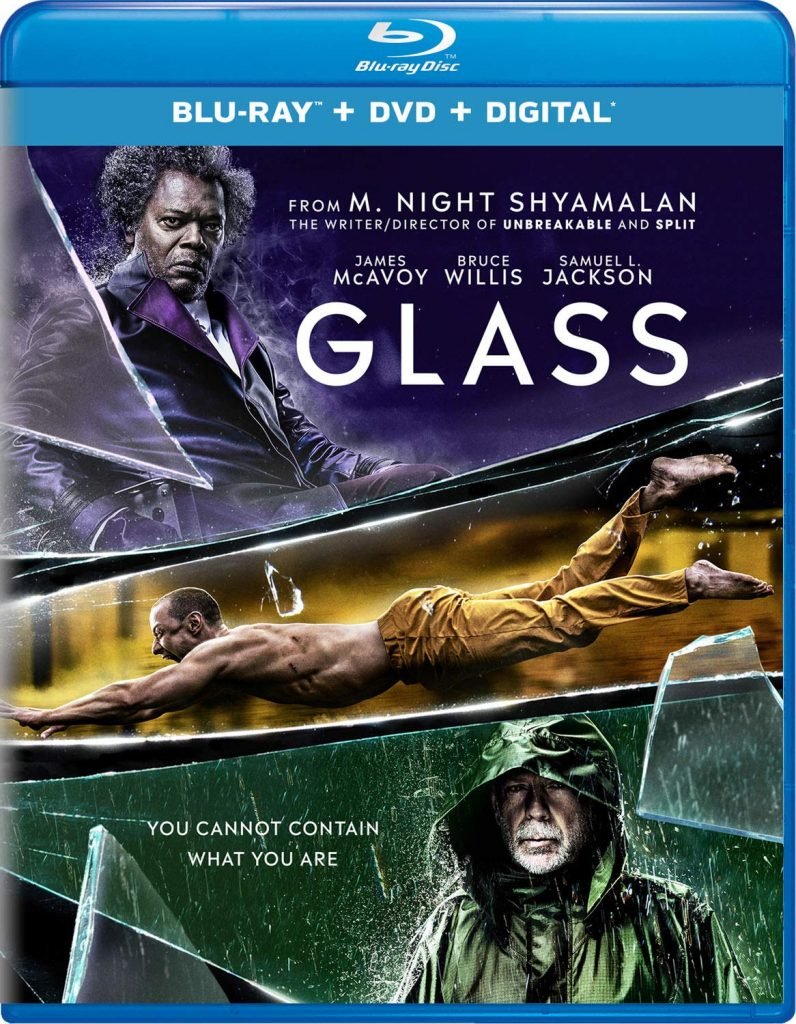Glass Blu-ray 4K Ultra HD Box