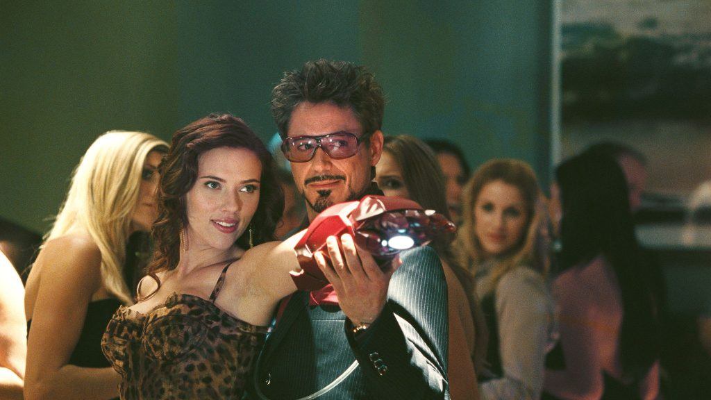 Iron Man 2 Tony Stark Black Widow