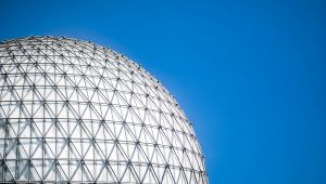 Ontarioplace-Cinesphere-blue-sky