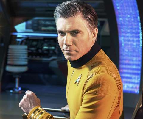 Star Trek: Discovery Anson Mount Christopher Pike