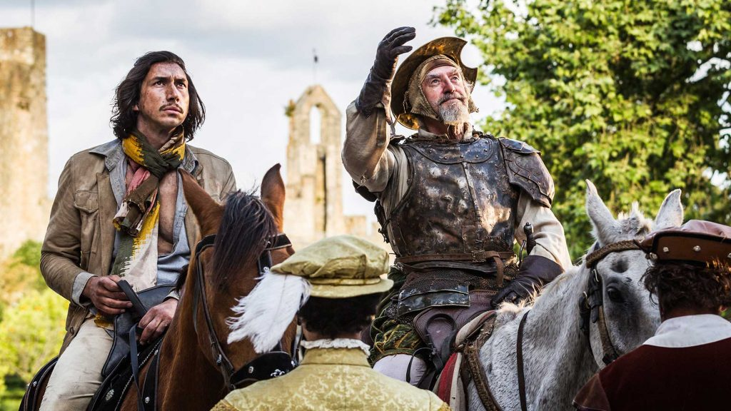 The Man Who Killed Don Quixote Adam Driver Interview
