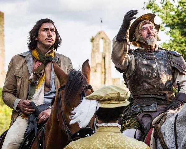 The Man Who Killed Don Quixote Adam Driver Interview