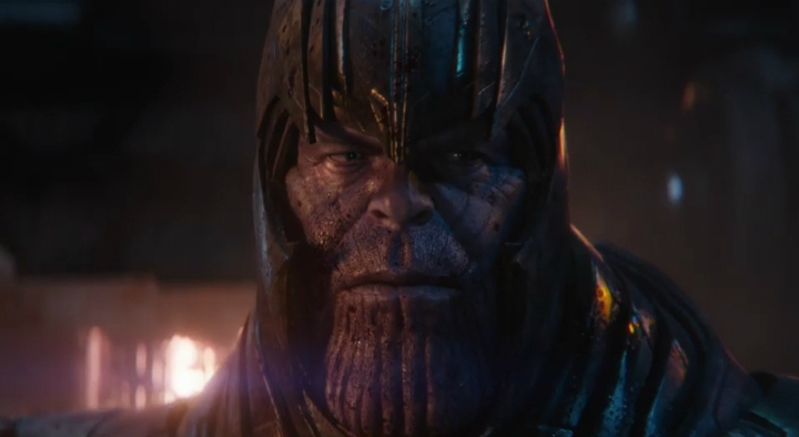 Avengers Endgame-Thanos-in-a-Helmet