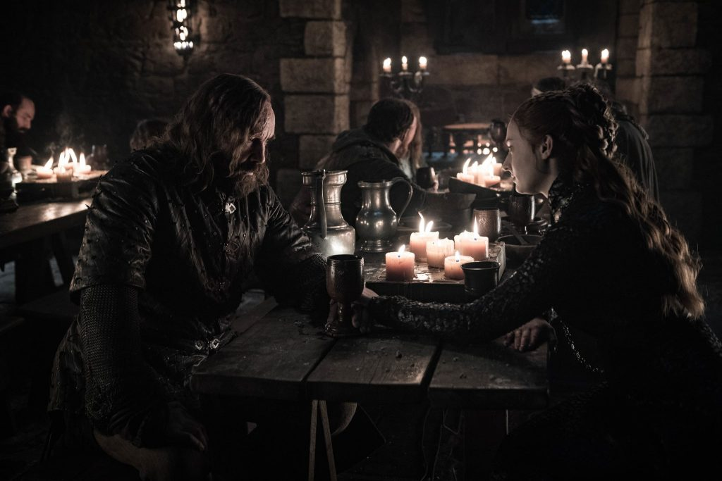Game of Thrones Sansa and The Hound