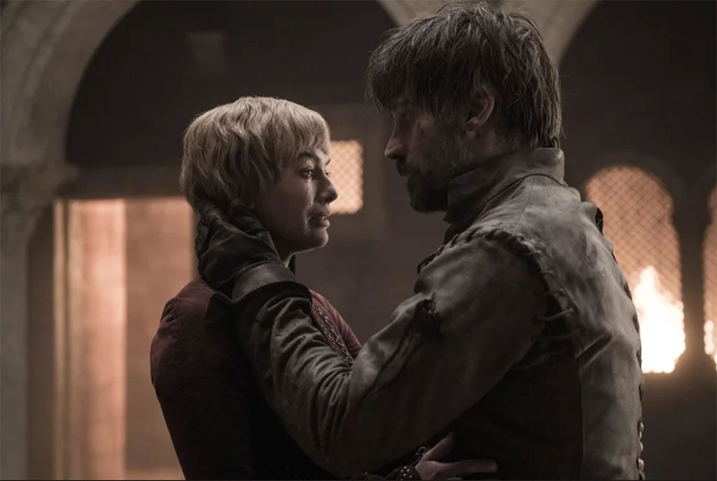 Game of Thrones Season 8 Episode 5 Cersei Lannister Jaime Lannister death