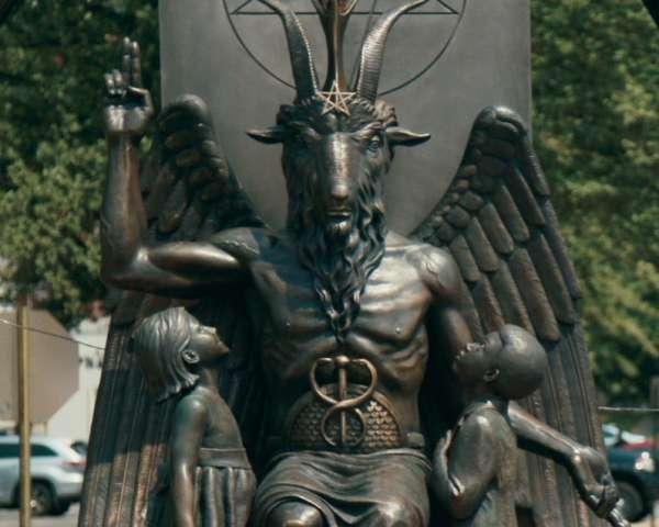 Hail-Satan?-still_Baphomet_Statue