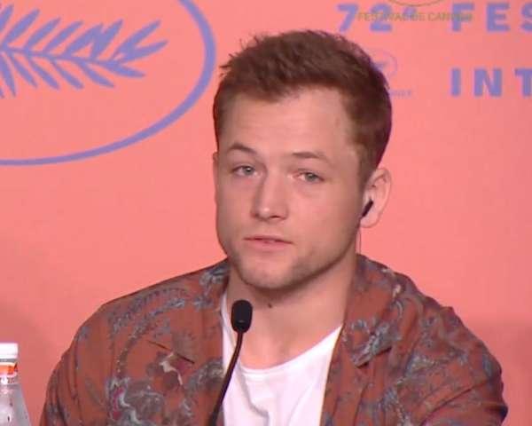 Rocketman Cannes Press Conference