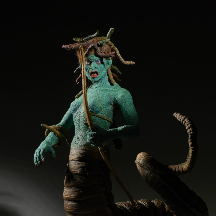 Medusa model from Clash of the Titans
