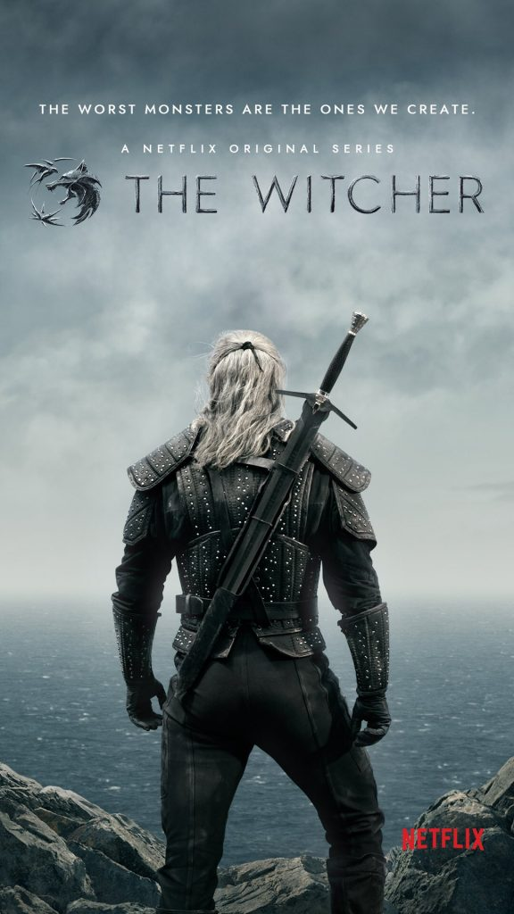The Witcher Netflix Geralt Poster