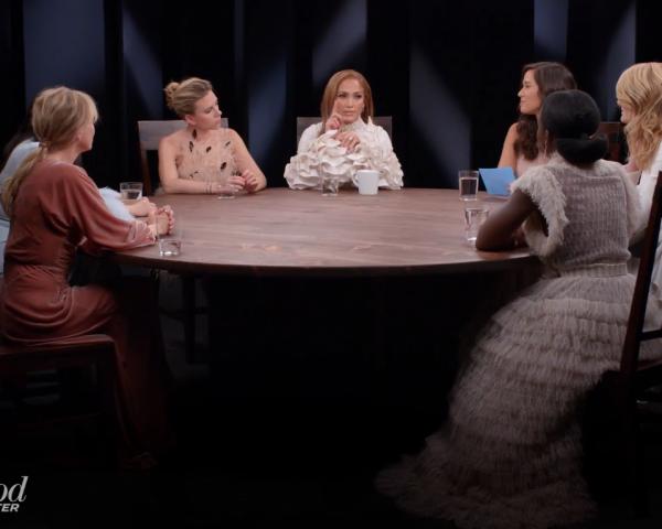 Jennifer Lopez, Laura Dern, Scarlett Johansson, awkwafina, Lupita Nyong'o, Renee Zellweger