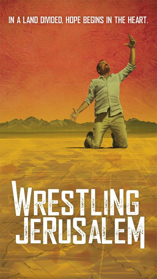 Wrestling Jerusalem Poster