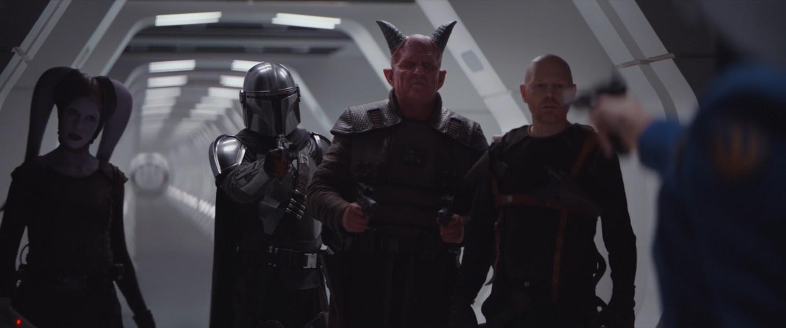 cast of the mandalorian episode 6