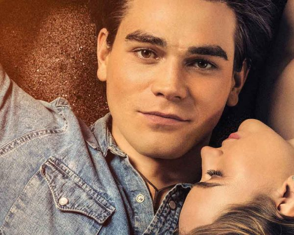 KJ Apa and Britt Robertson in I Shall Believe
