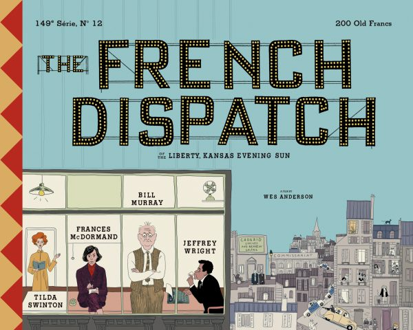 French Dispatch poster